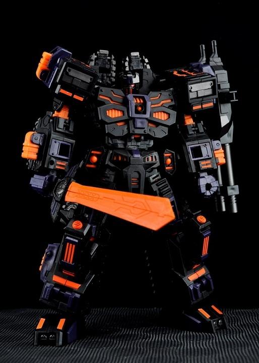 Transformers Maketoys Mb01 C Paladin Chaos/18829