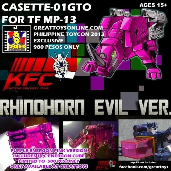 Transformers Keiths Fantasy Club Cst 01gto/20609