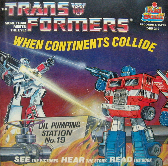 When Continents Collide Transformers Audiobooks Of The Week/23771