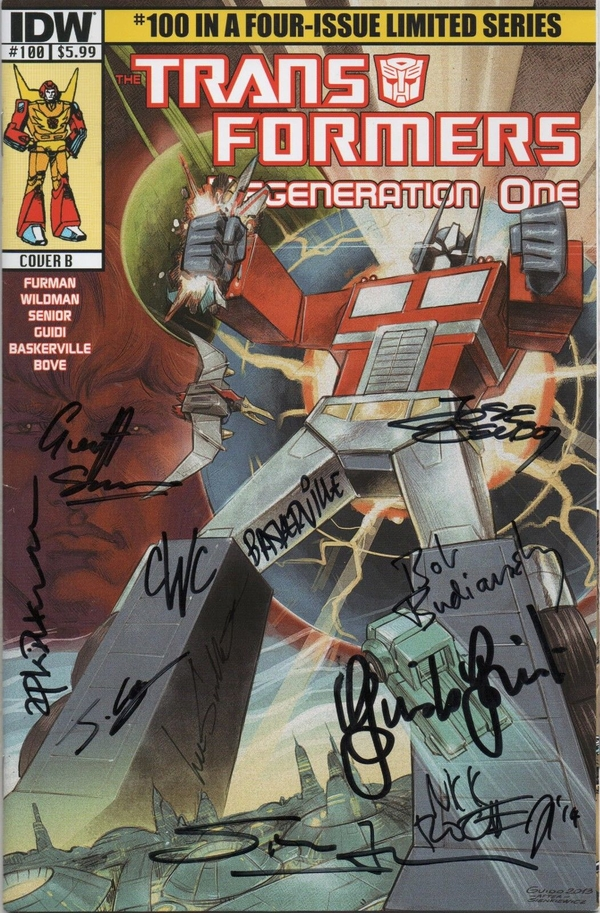 Andrew Wildman Auctions Off 30 Copies Of Regeneration One 100 With Signatures Of 12 Creators To Benefit Writer Bill Mantlo/25303