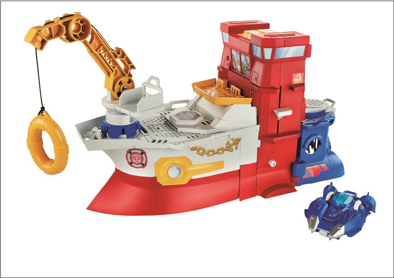 Rescue Bots High Tide Rescue Rige Playset Boat New without Box