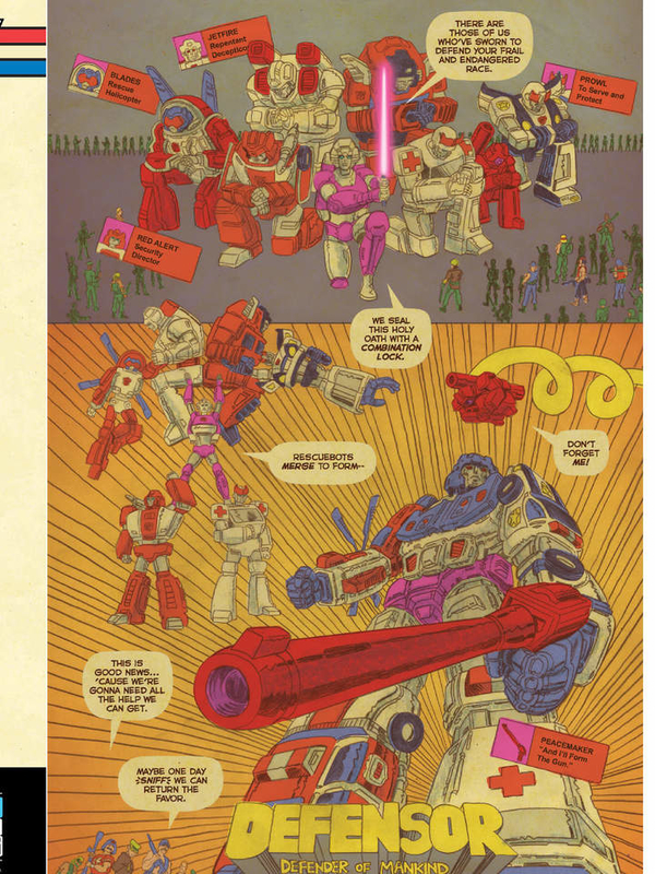 Transformers vs. G.I. Joe #12 Comicbook Preview - WELCOME TO THE TERROR DROME!