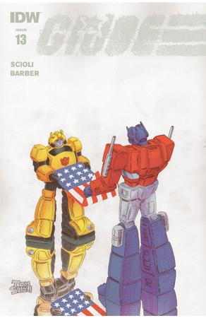 Transformers Vs Gi Joe 13 Three Page Itunes Preview/29464