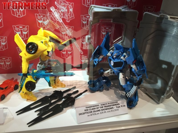 SDCC 2016 - Photos From The Hasbro Display With Release Details For Liokaiser, TRU RID Exclusive With Stasis Pod!