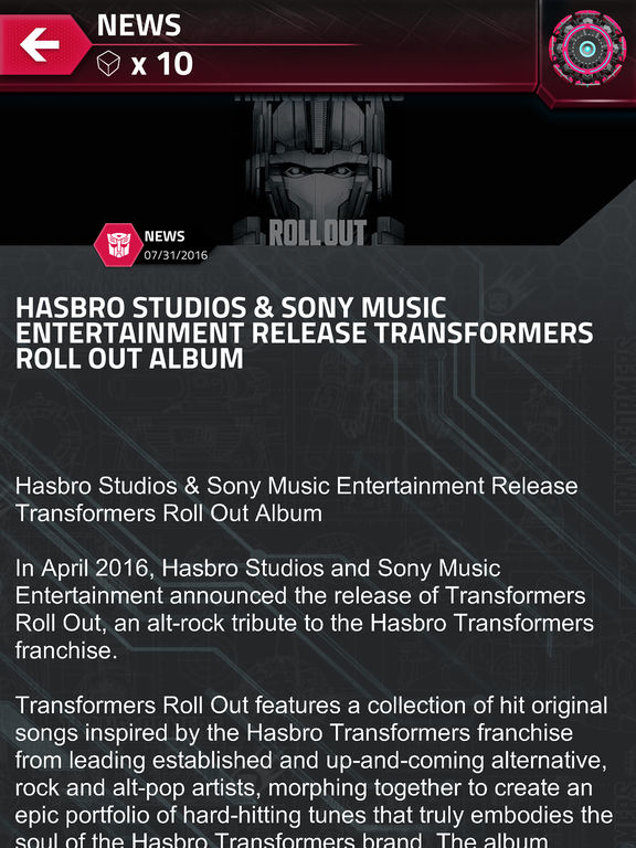 transformers official app reboots with new look new missions and 13 rating /29969