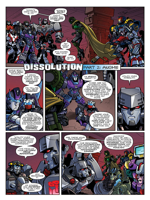 Transformers Lost Light 2 Three Page Itunes Preview/30722