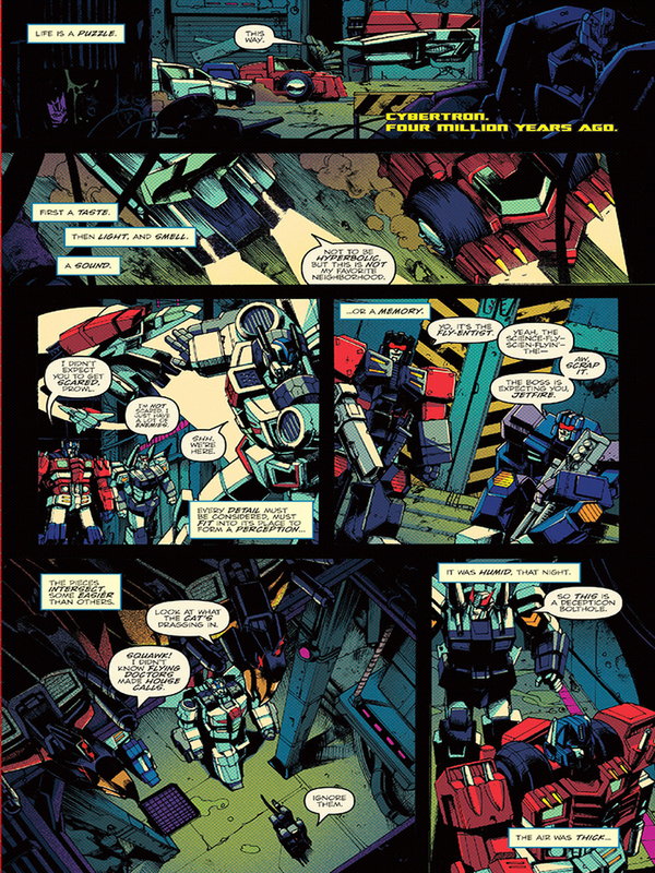 Optimus Prime 3 Three Page Itunes Preview/30724