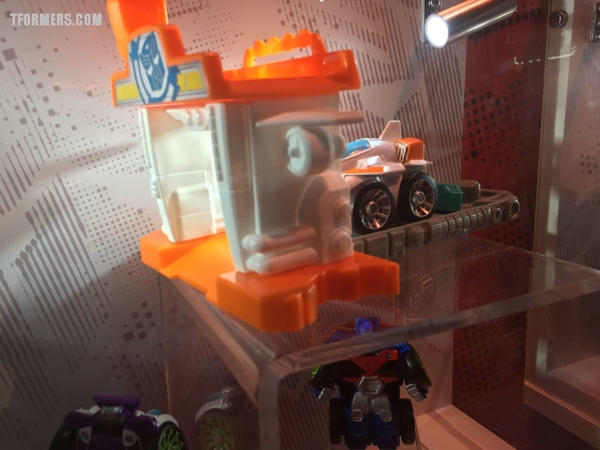 SDCC 2017 - Robots in Disguise And Rescue Bots Display Preview Night Gallery From The Hasbro Booth