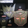 Sdcc 2017 Transformers G1 Jewelry From Han Cholo Optimus Prime Megatron Soundwave/32135