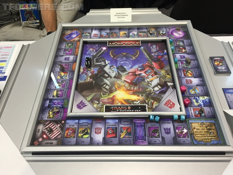 hascon 2017 transformers g1 monopoly deluxe collectors edition board game/32434