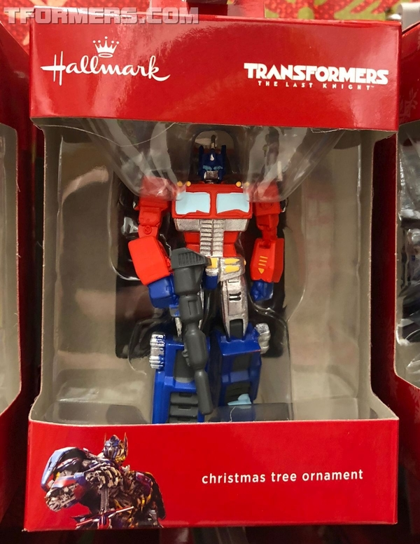 Hallmark G1 Optimus Prime Holiday Tree Ornament Sighted