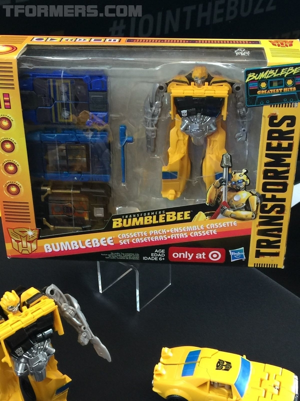 SDCC 2018 - New Bumblebee Energon Igniters Movie Toys From Hasbro