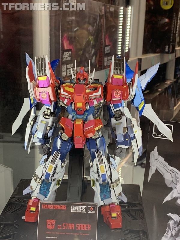 NYCC 2018 - Flame Toys Bumblebee, Star Saber, Victory Leo, More Images