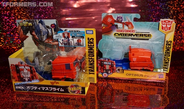 Takara Tomy TC-14 Turbo Change Optimus Prime Image Gallery