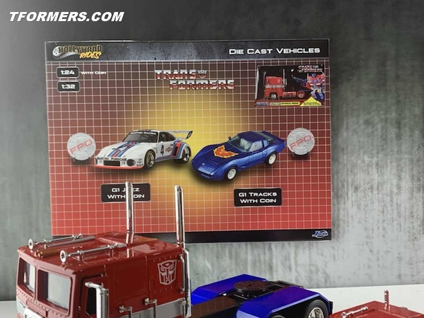 Toy Fair 2019 - Jada Transformers New Reveals Jazz, Tracks, Sideswipe, More