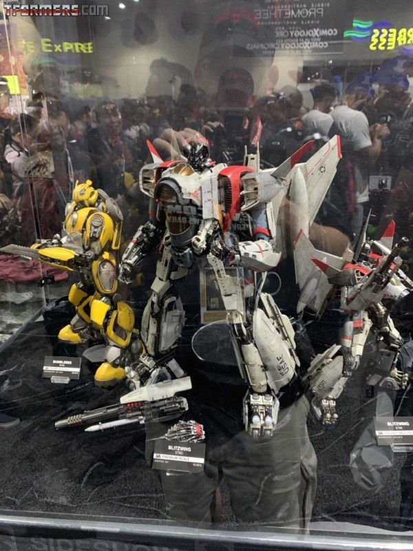 SDCC 2019 - 3A Transformers: Bumblebee, Blitzwing, Optimus Prime