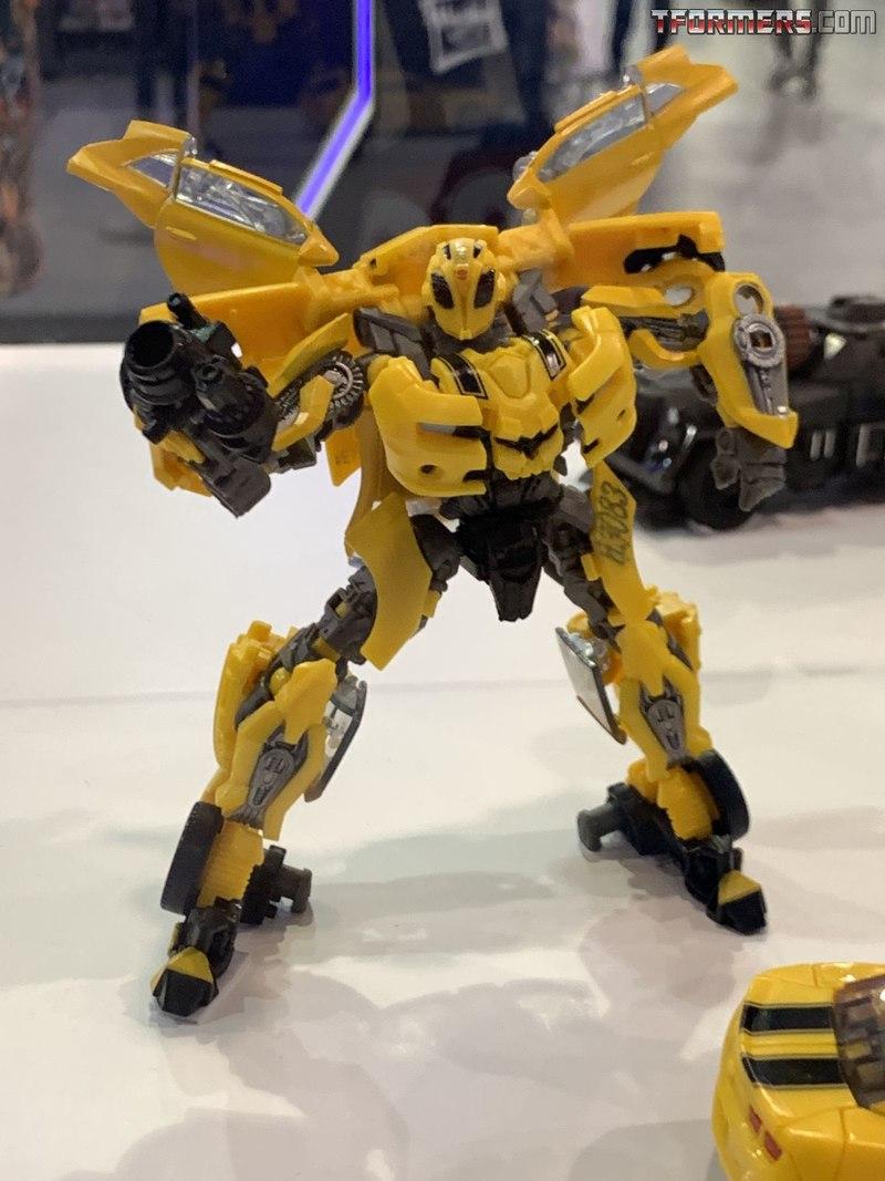 Transformers Studio Deluxe Wave 8 Set Bumblebee Hot Rod Soundwave Arcee Chromia