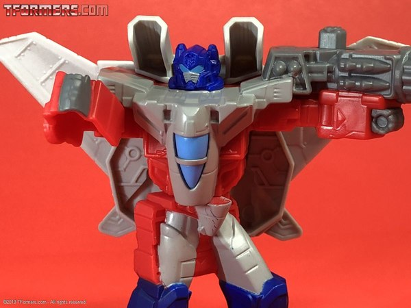 GALLERY - Burger King Sky Turbine Optimus Prime Cyberverse Transformers Toy