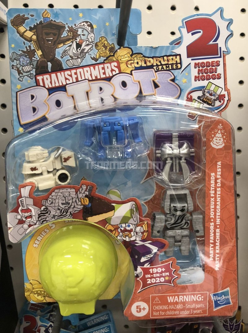 BotBots Series 5 Gold Rush Games 5-Packs Found in Northern California Target