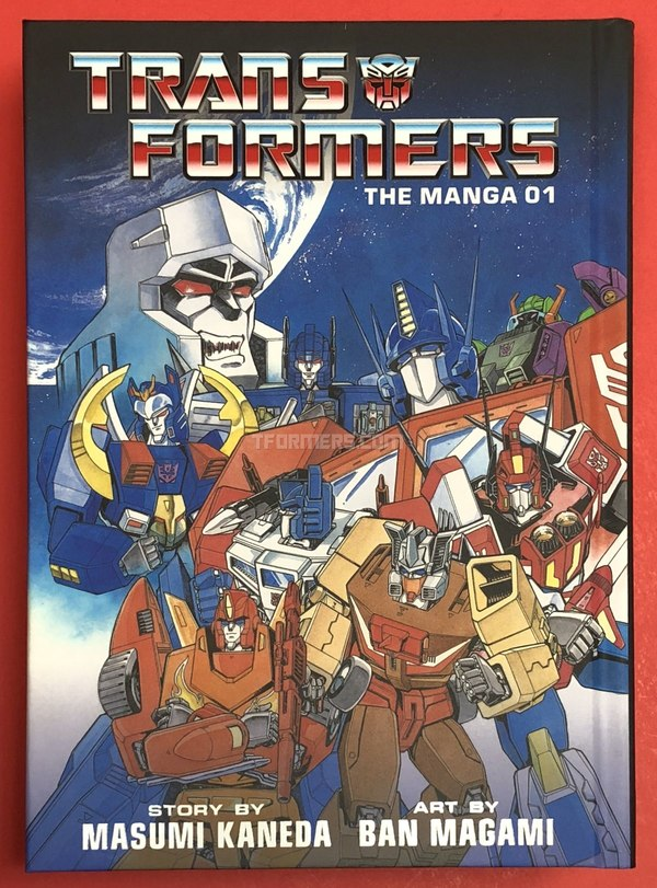 REVIEW - Transformers: The Manga Volume 1 From VIZ Media