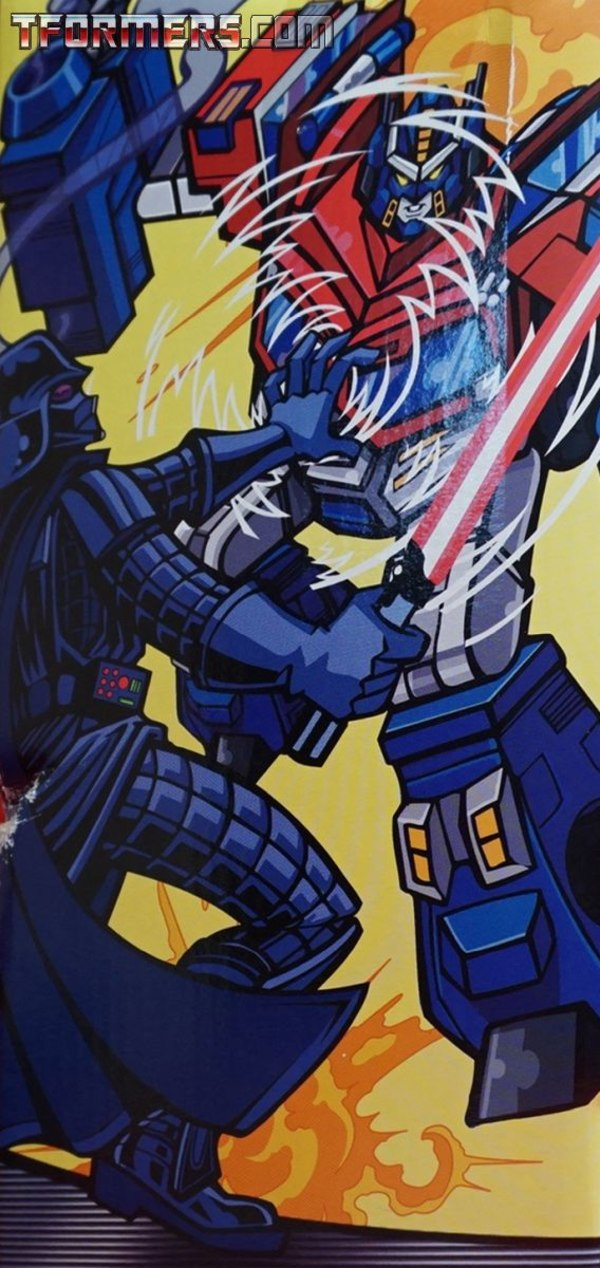 Daily Prime - Darth Vader Vs Optimus Prime Attacktix Stars Wars Vs Transformers