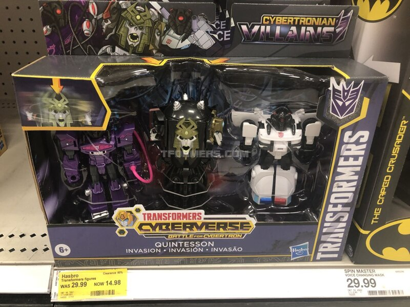 Cyberverse Quintesson Invasion Sets On Clearance at Target