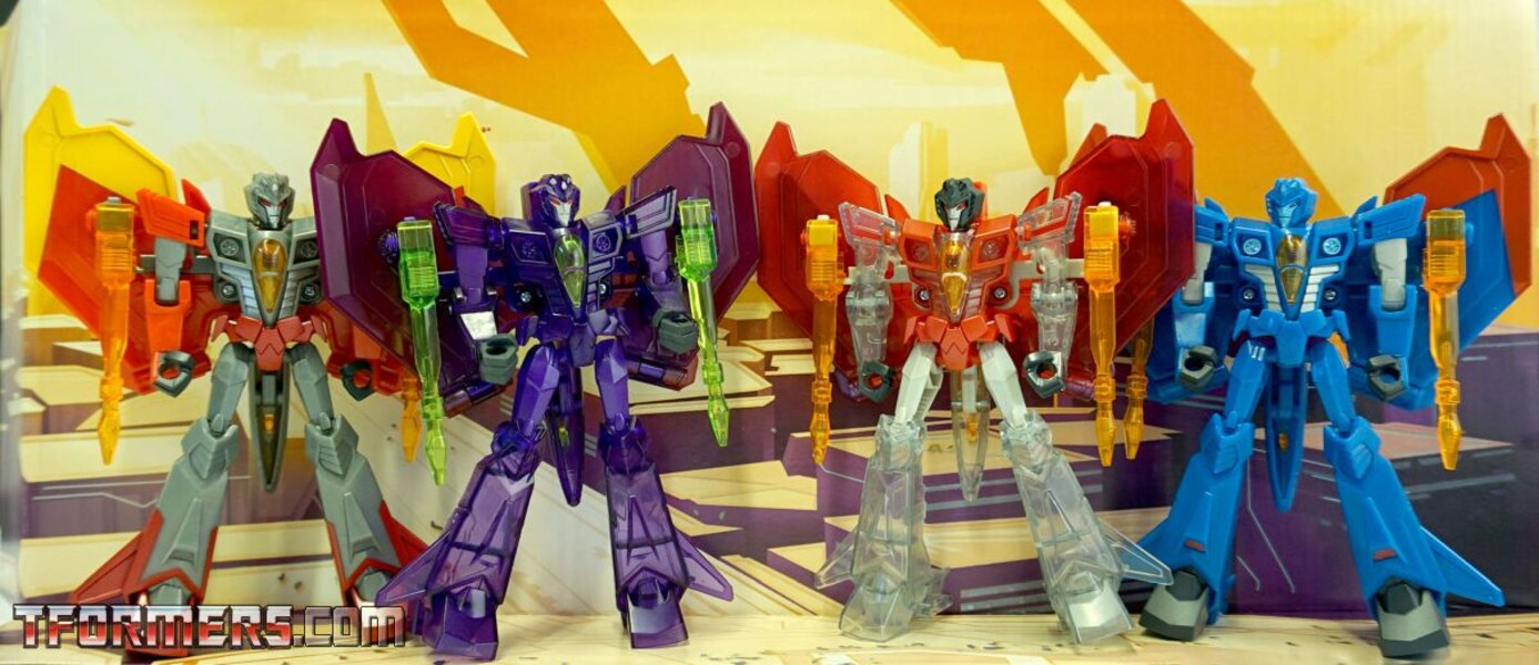 Cyberverse Seekers Sinister Strikeforce 4-Pack In-Hand Images
