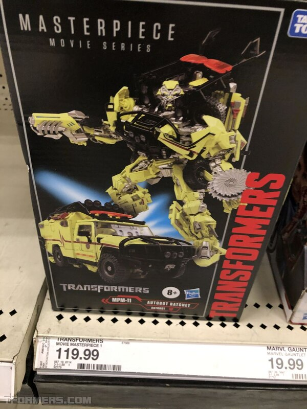 Transformers MasterPiece MPM-11 Ratchet Found at Target USA