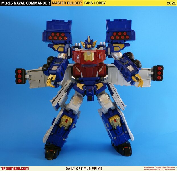 Daily Prime - Fans Hobby Master Builder MB-15 Naval Commander Combined Mode