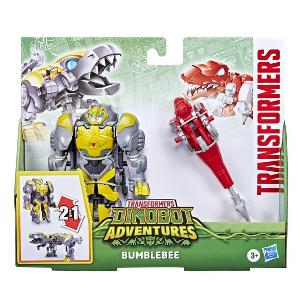 Transformers Dinobot Defenders Bumblebee 2-Pack Official Images & Details