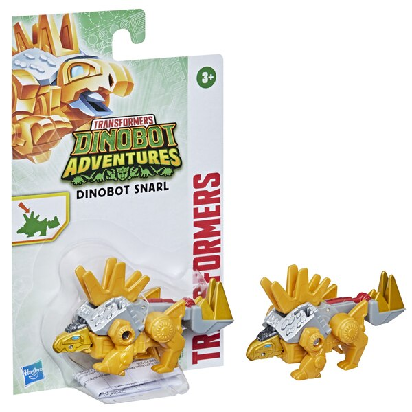 Transformers Dinobot Adventures Dinobot Strikers Dinobot Snarl with Tail Pounding Action