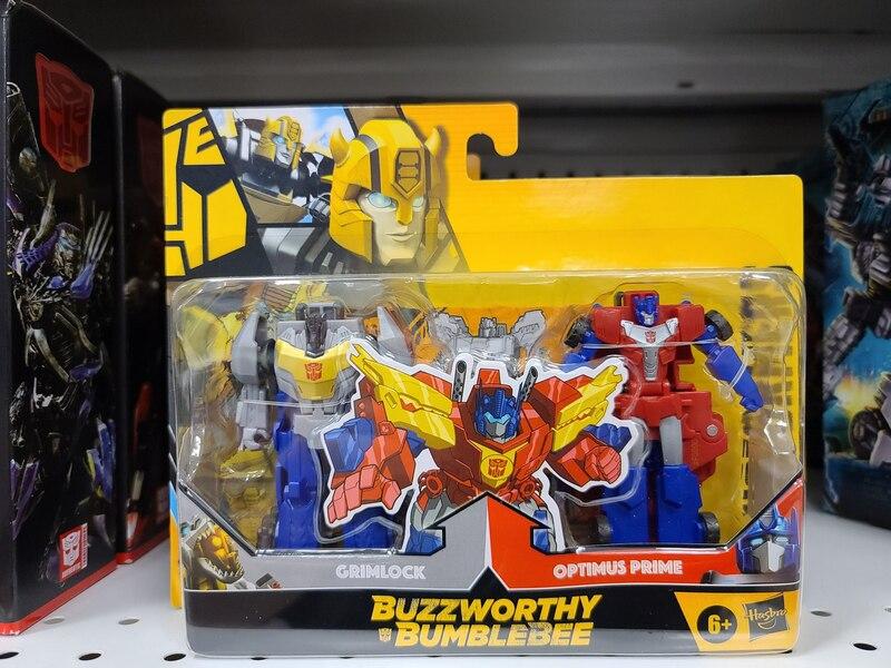 Buzzworthy Bumblebee BumbleGrim & PrimeLock Crash Combiners Revealed