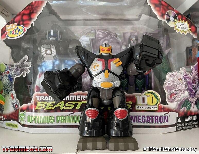 Go-Bots Gorilla-bot the other Optimus Primal - #TFShelfShotSaturday